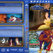 Beauty and the Beast Double Feature (1991/1997) R1 Custom Blu-Ray Cover