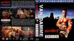 Bloodsport / Kickboxer Double Feature (1988-1989) R1 Custom Blu-Ray Cover