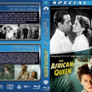 Casablanca / The African Queen Double Feature (1942-1951) R1 Custom Blu-Ray Cover