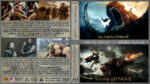 Clash of the Titans / Wrath of the Titans Double Feature (2010-2012) R1 Custom Blu-Ray Cover