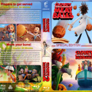 Cloudy with a Chance of Meatballs Double Feature (2009-2013) R1 Custom Blu-Ray Cover