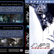 AVP Double Feature (2004-2007) R1 Custom Blu-Ray Cover