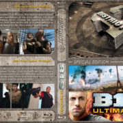 District 13 / B13: Ultimatum Double Feature (2004-2009) R1 Custom Blu-Ray Cover