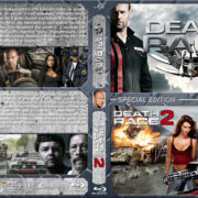 Death Race Double Feature (2008-2010) R1 Custom Blu-Ray Cover