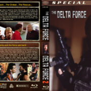 Delta Force Double Feature (1986-1990) R1 Custom Blu-Ray Cover