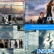 Divergent / Insurgent Double Feature (2014-2015) R1 Custom Blu-Ray Cover
