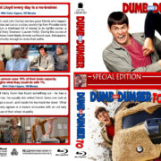 Dumb and Dumber Double Feature (1994-2014) R1 Custom Blu-Ray Cover