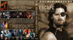 Escape from New York / L.A. Double Feature (1981-1996) R1 Custom Blu-Ray Cover