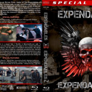 The Expendables Double Feature (2010-2012) R1 Custom Blu-Ray Covers