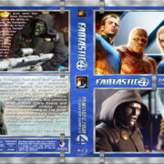 Fantastic 4 Double Feature (2005-2007) R1 Custom Blu-Ray Cover