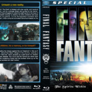Final Fantasy Double Feature (2001-2005) R1 Custom Blu-Ray Cover