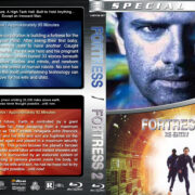 Fortress Double Feature (1992-2000) R1 Custom Blu-Ray Cover