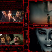Fright Night Double Feature (2011-2013) R1 Custom Blu-Ray Cover