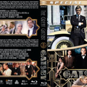 The Great Gatsby Double Feature (1974-2013) R1 Custom Blu-Ray Cover