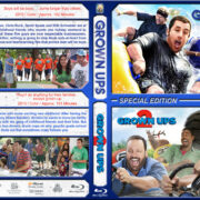 Grown Ups Double Feature (2010-2013) R1 Custom Blu-Ray Cover