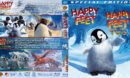 Happy Feet Double Feature (2006-2011) R1 Custom Blu-Ray Covers