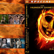 The Hunger Games Double Feature (2012-2013) R1 Custom Blu-Ray Covers