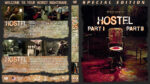 Hostel Double Feature (2006-2007) R1 Custom Blu-Ray Cover