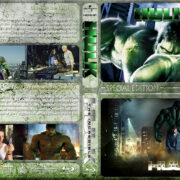 Hulk / The Incredible Hulk Double Feature (2003-2008) R1 Custom Blu-Ray Cover