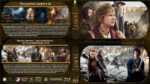 The Hobbit Double Feature (2012-2013) R1 Custom Blu-Ray Covers