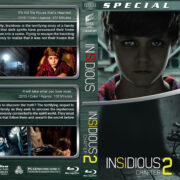 Insidious Double Feature (2010-2013) R1 Custom Blu-Ray Cover
