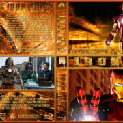 Iron Man Double Feature (2008-2010) R1 Custom Blu-Ray Cover
