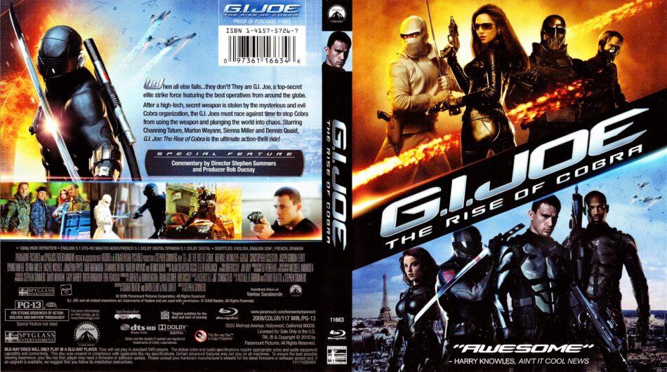 G I Joe The Rise Of Cobra Blu Ray Cover 2009 R1