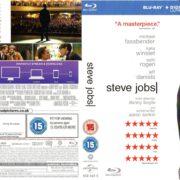 Steve Jobs (2015) R2 Blu-Ray Cover