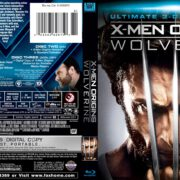 X-Men Origins Wolverine – Ultimate Edition (2009) R1 Blu-Ray Cover