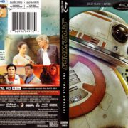 Star Wars The Force Awakens (WalMart Exclusive) (2015) R1 Blu-Ray Cover