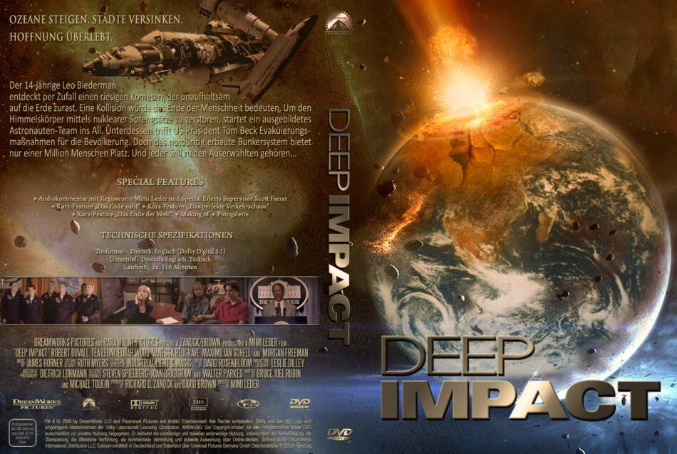 Deep Impact Dvd Cover 1998 R2 German
