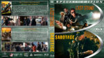 Last Stand / Sabotage Double Feature (2013-2014) R1 Custom Blu-Ray Cover