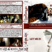 Let the Right One In / Let Me In Double Feature (2008-2010) R1 Custom Blu-Ray Cover