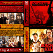 Machete Double Feature (2010-2013) R1 Custom Blu-Ray Cover