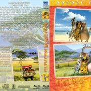 Madagascar Double Feature (2005-2008) R1 Custom Blu-Ray Cover