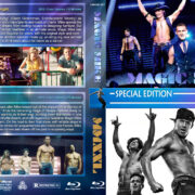 Magic Mike Double Feature (2012-2015) R1 Custom Blu-Ray Cover