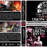 Man with the Iron Fists Double Feature (2012-2015) R1 Custom Blu-Ray Cover