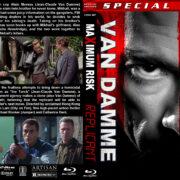 Maximum Risk / Replicant Double Feature (1996-2001) R1 Custom Blu-Ray Cover