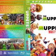 The Muppets / The Muppets Most Wanted Double Feature (2011-2014) R1 Custom Blu-Ray Covers