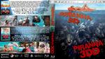 Piranha 3D / Piranha 3DD Double Feature (2010-2012) R1 Custom Blu-Ray Cover