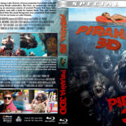 Piranha 3D / Piranha 3DD Double Feature (2010-2012) R1 Custom Blu-Ray Cover