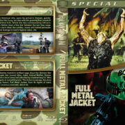 Platoon / Full Metal Jacket Double Feature (1986-1987) R1 Custom Blu-Ray Cover