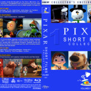 Pixar Short Films Collection – Volumes 1 & 2 (2007-2012) R1 Custom Blu-Ray Cover