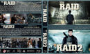 The Raid Double Feature (2011-2014) R1 Custom Blu-Ray Covers