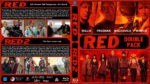 RED / RED 2 Double Feature (2010-2013) R1 Custom Blu-Ray Cover