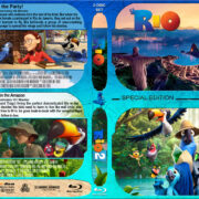 Rio / Rio 2 Double Feature (2011-2014) R1 Custom Blu-Ray Cover
