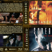 Screamers Double Feature (1995-2009) R1 Custom Blu-Ray Cover