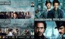 Sherlock Holmes Double Feature (2009-2011) R1 Custom Blu-Ray Cover