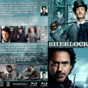 Sherlock Holmes Double Feature (2009-2011) R1 Custom Blu-Ray Cover
