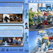 Smurfs / Smurfs 2 Double Feature (2011-2013) R1 Custom Blu-Ray Cover
